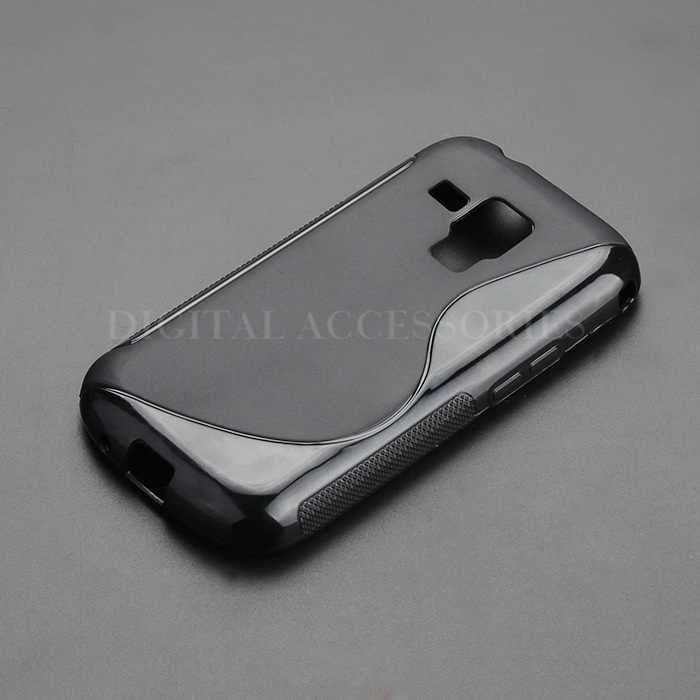 2015 S Line гель TPU Тонкий мягкий анти-Лыжный чехол задняя крышка для samsung Galaxy S Duos GT S7562 резиновый силиконовый чехол для мобильного телефона