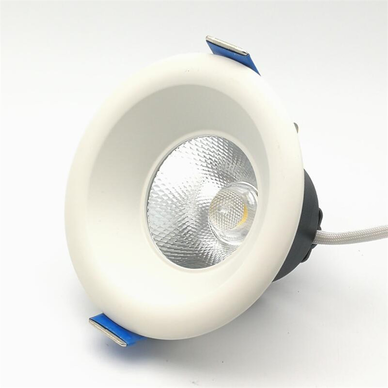 ROSTSTAR dimmable led downlight lamp 9w 15w 20w cob spot AC220V / 110V ceiling recessed downlights round  down