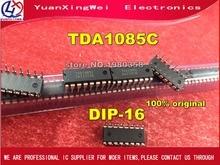 free shipping 5PCS TDA1085C DIP 16 100% original TDA1085 TDA1085CG DIP