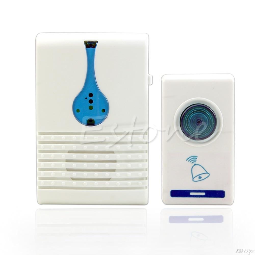100M Range Home Wireless Chime Doorbell Waterproof 32 Tune Songs Digital Remote Control Door Bell  New Drop ship