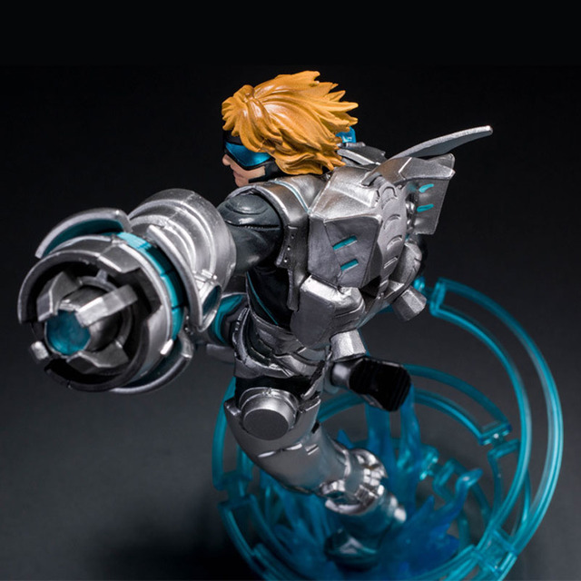 LOL League of Legends Figure Action Game Future Soldiers Izearil Big EZ Character Model Toy action-figure 3D Game Creative Gift  4
