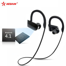 Bluetooth Earphone Cordless Waterproof Headphone with Mic Running Sports Portable Neckband Headsets for ios Andriod Mobile Phone(China)