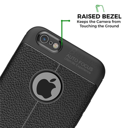 BSLIUFANG Luxury Shockproof Matte Cover For iPhone 6 7 8 Plus 6s TPU Leather Soft Case For Phone Case iPhone X XR XS Max Cover 2
