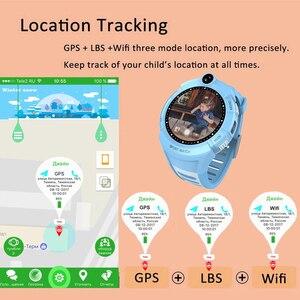 Image 4 - Q360 ساعة ذكية للأطفال مع كاميرا لتحديد المواقع واي فاي الموقع الطفل smartwatch SOS مكافحة خسر رصد المقتفي الطفل ساعة اليد PK Q528 Q90