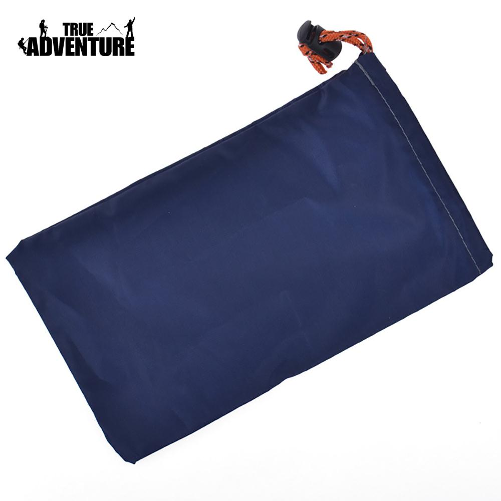 Practical Small Pocket Outdoors Storage Bag Storage Package Random Color Durable Oxford Cloth Mountaineering Portable