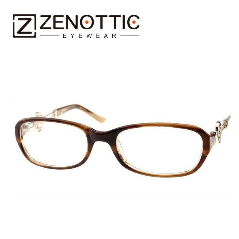 ZENOTTIC 2018 New Design Fashion Eyeglasses Frame Women Lady Style - Apparel Accessories - Photo 3