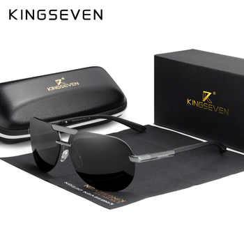 KINGSEVEN BRAND DESIGN New Polarized Rimless Sunglasses Men Women Driving Pilot Frame Sun Glasses Male Goggle UV400 Gafas De Sol - DISCOUNT ITEM  53 OFF Apparel Accessories