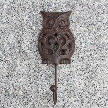Мудрый Ночной Совы сверхмощный настенный крюк коричневый