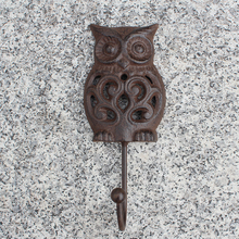 Wise Night Owls Heavy Duty Wall Hook-brown