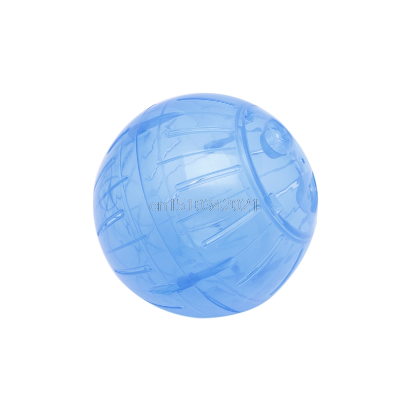 New pet toy new colorful run about exercise ball clear hamster mouse rate toy 14 5cm