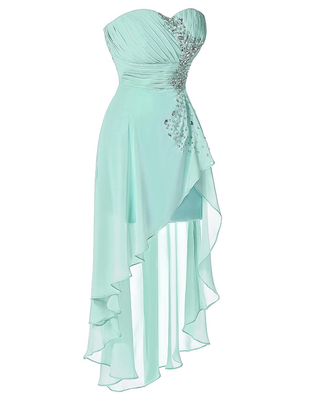 HTB1GIPMKVXXXXaQaXXXq6xXFXXXzHigh Low Short Front Long Back Strapless Dress