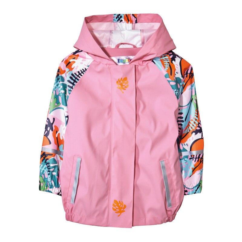 cf57f85684d Mioigee 2019 Spring Children Outerwear Raincoat Poncho Boys PU ...