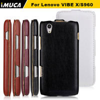 Mobile Lenovo Leather Flip Case For Lenovo Vibe X S960 Brand Original New PU Leather Case