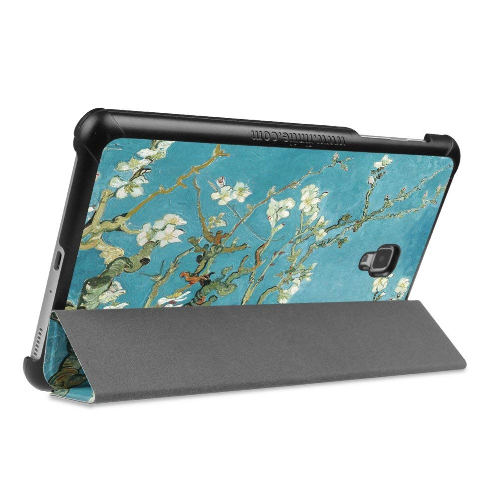 Slim Smart PU Leather Case For Samsung Galaxy Tab A 8.0 Inch 2017 SM-T380 T385 Cover Hard Back Stand Case For Samsung Tab A 8.0