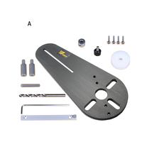 Bakelite Milling Durable Efficient Circle Groove Easy Operate Electric Trimmer Use Practical Professional Tool Cutting Jig Set
