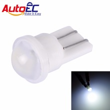 AutoEC 2x Ceramic Car Interior LED T10 194 4014 W5W Wedge Door Instrument Side Light Bulb Lamp Car Light Source 12V For Toyota