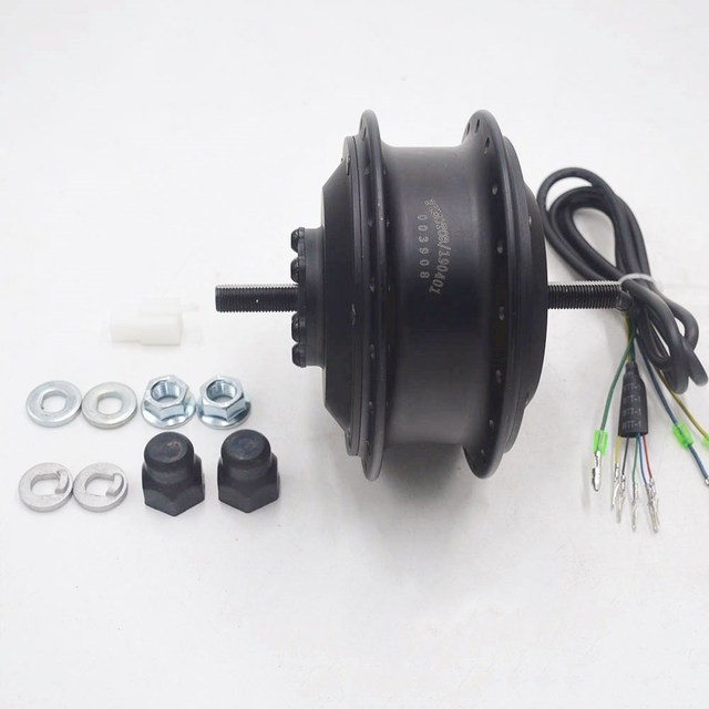 36V/48V 250W electric bike hub motor High Speed Brushless Gear Hub Motor e-bike Motor Front Wheel Drive DQ100