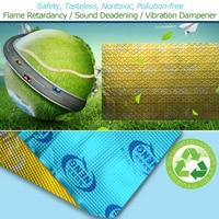 78 74 Mil 4 3 Sqft Butyl Sound Deadener Mat Self Adhesive Automotive Heat Insulation And