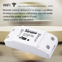 High Quality Sonoff SmSonoff Smart Home Remote Control Wireless Wifi Switch Wall Timer Switch Smartphone Remote