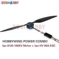Hobbywing xrotor вок Мощность Системы Combo безщеточный 8120 100kv Двигатель и hv 80A вок V3 ESC для сельскохозяйственных дроны