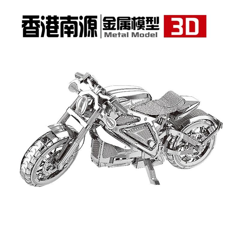 Avenger Motorcycle nanyuan მოდელები 3D DIY - ფაზლები - ფოტო 3
