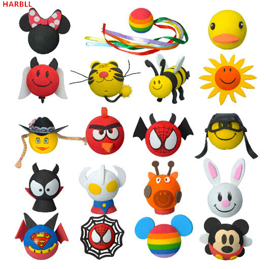 HARBLL New car Antenna Balls roof Stickers Cartoon Decoration Ball for cars car styling toppers Automotive exterior supplies partol black car roof rack cross bars roof luggage carrier cargo boxes bike rack 45kg 100lbs for honda pilot 2013 2014 2015