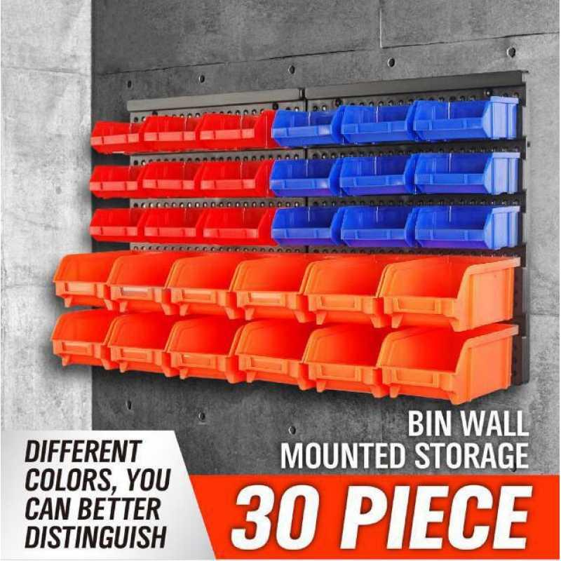 boite de rangement pour pieces murales boite de rangement pour vis composants de classement unite de garage organisateur d etageres boite a outils en