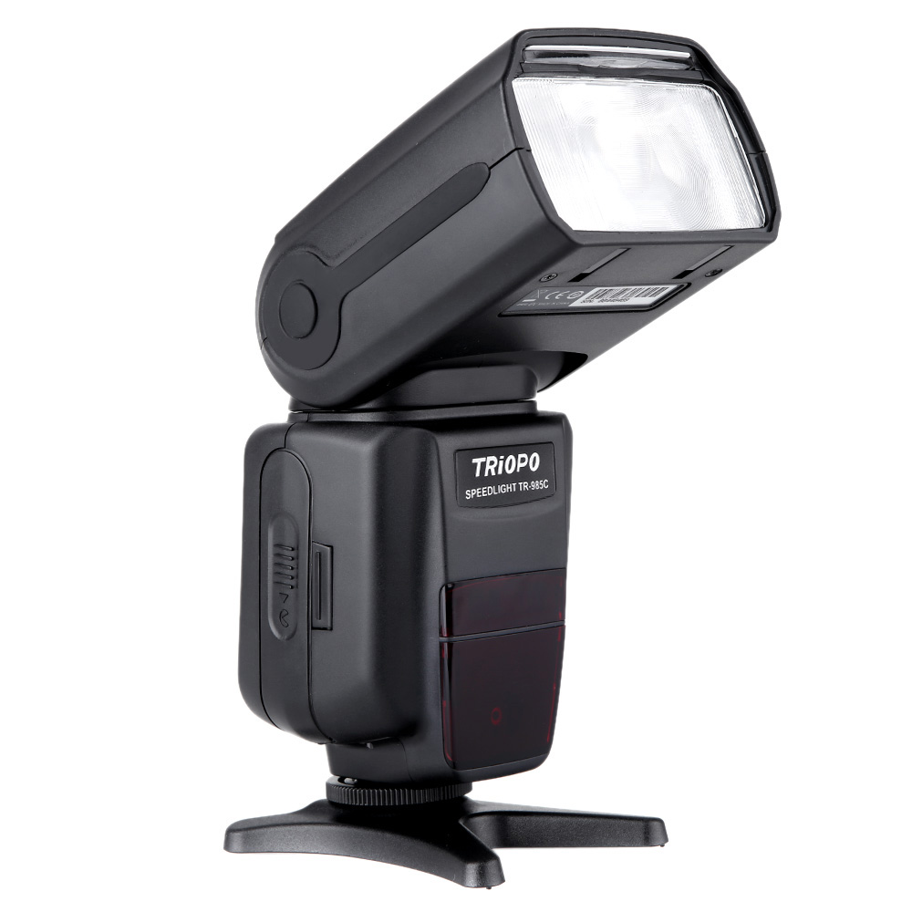 TRIOPO TR-985C TFT Color Display Speedlite E-TTL High Speed Sync 1/8000s Camera Flash for Canon EOS 5D Mark III 60D 7D triopo tr 586ex c wireless ttl flash speedlite for canon eos 5d mark ii 5d3 7d 6d 70d 650d 5diii 5d ii 60d as yongnuo yn565ex ii