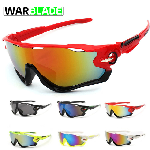 955a07409643 WarBLade New Design Outdoor Cycling Glasses Unisex Anti-uv Bicycle Goggles  Sunglasses Sports Riding Bike