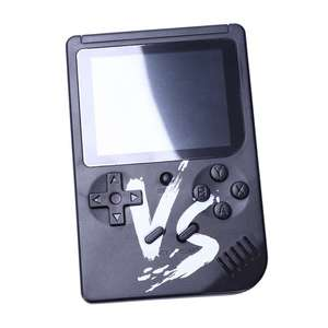 Image 1 - Powkiddy 2.6 Inch Retro Game Mini Handheld Console Support AV Output Built In 500 Games Double Player With Game Controller(Bla