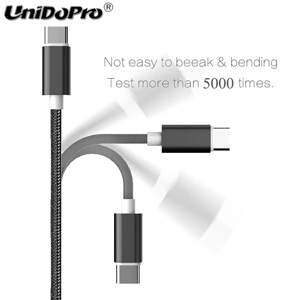 BLACK // 3Mt Original ZE554KL 10FT USB to Type-C Charging and Transfer Cable.
