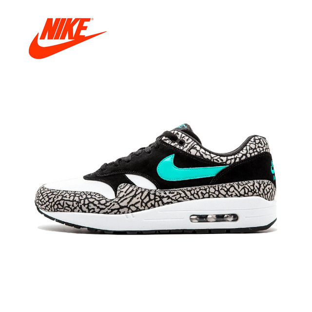 a855830899 Original New Arrival Authentic Nike Air Max1 Premium Atmos Elephant Mens  Running Shoes Sneakers Sport Outdoor Breathable