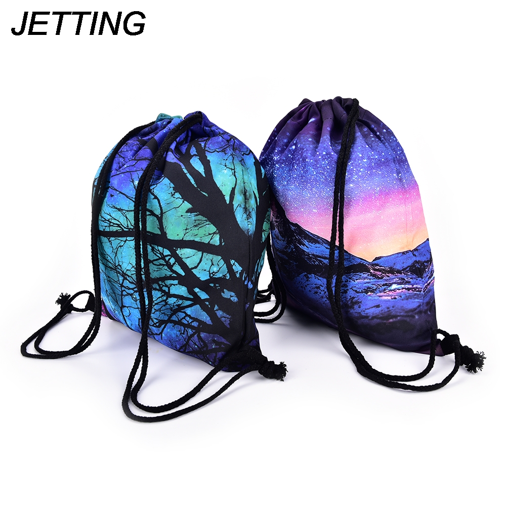 women backpack unique pattern men 3D Printing Drawstring Bags multicolor Backpack good quality rucksack women mochilas Рюкзак