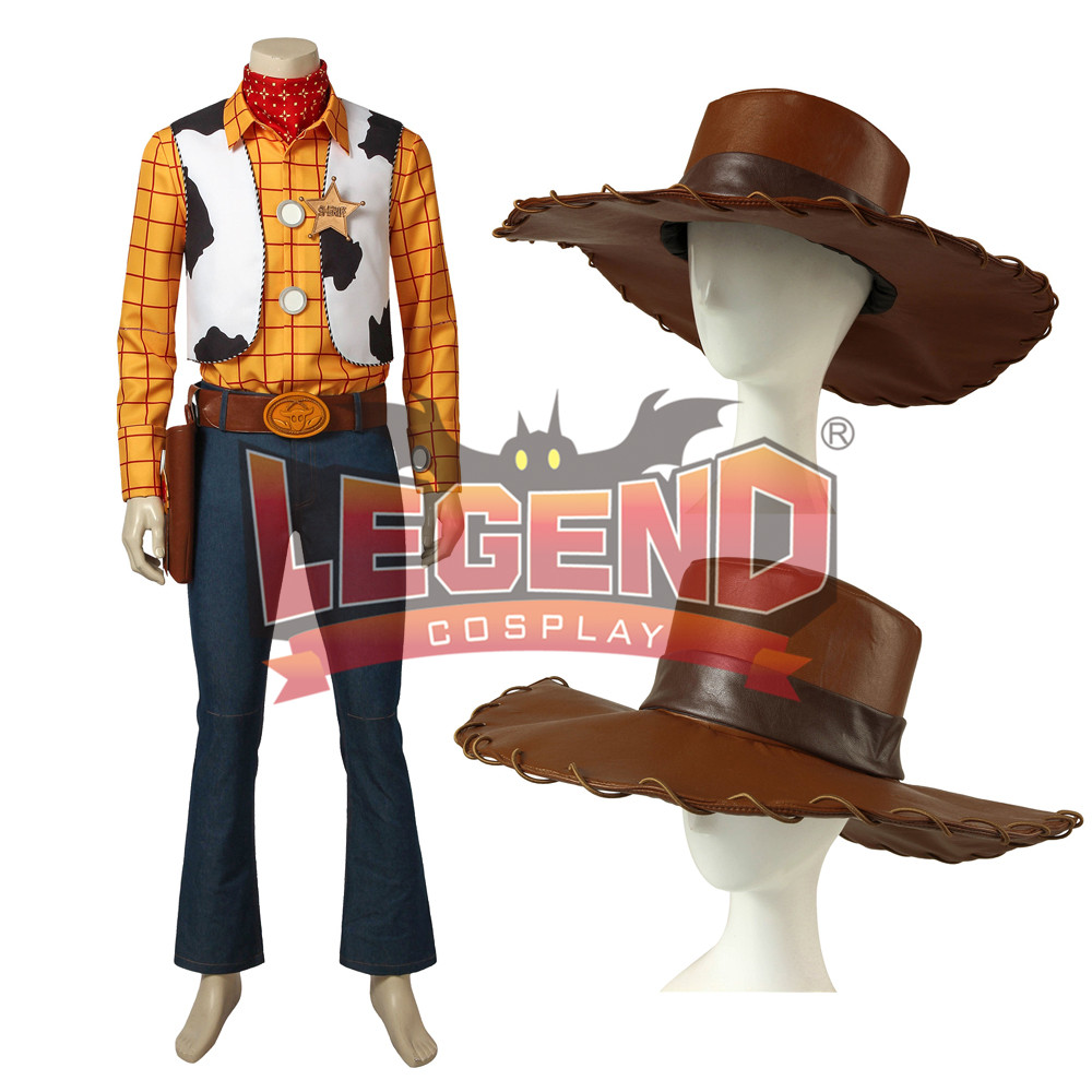 Toy Story Woody Cosplay Costume without shoes cowboy costume men's outfit cosplay costume custom made