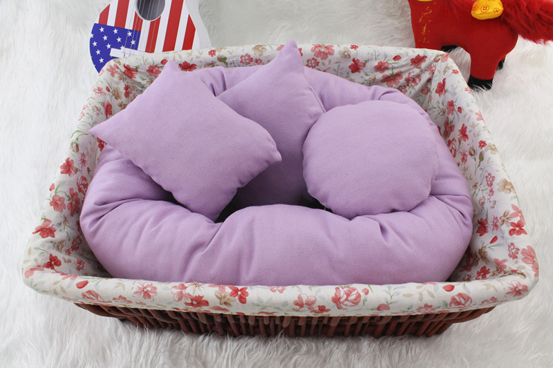 Newborn Photography Pillow Basket Filler 4PCS/Set Baby Wheat Donut Posing Props posing beanbag Studio Size