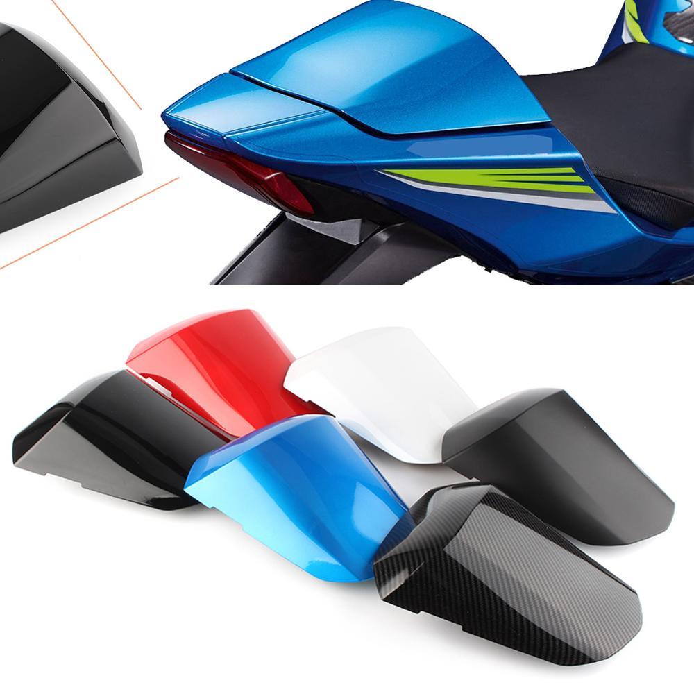 For SUZUKI GSXR 1000 Motorbike Rear Passenger Cowl Seat Back Cover Fairing Part GSXR1000 2017 2018 ABS Plastic Accessories