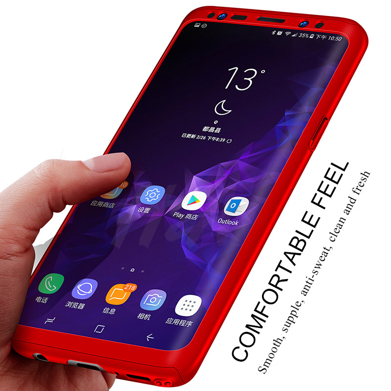 Image 3 - H&A 360 Luxury Full Protective Case For Samsung Galaxy S9 S8 Plus S6 S7 Edge Note 9 8 A5 A7 A3 2017 Anti knock Cover S8 S9 Case-in Phone Bumpers from Cellphones & Telecommunications