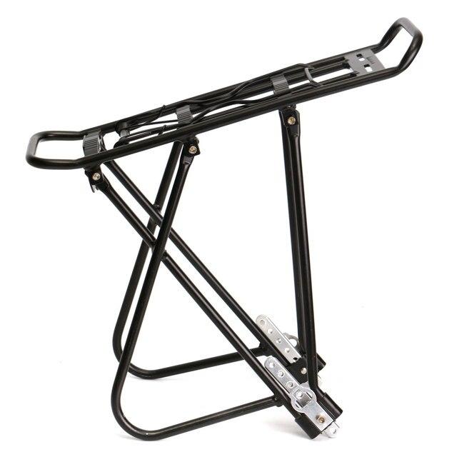 MTB велосипедный велосипед Велоспорт высокопрочный алюминиевый сплав стойка Перевозчик задний багаж Велоспорт Паньер полка для пакета кронштейн