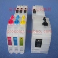 PROCOLOR New long Big volume 270ml refill inkjet cartridge LC-549XL BK/LC-545XL C/M/Y for BROTHER DCP-J100/DCP-J105/MFC-J200...