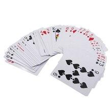 Смешные новые секретные покерные карты просвечивают игральные карточные игрушки простые неожиданные трюки магический реквизит для игры в покер вечерние шоу