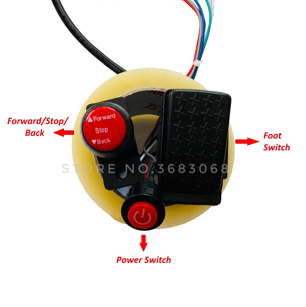 Children Electric Car Diy Modified Wires And Switch Kitwith 24g Wiring Harness For Power Wheels Bluetooth Remote Control Self Made Baby 12v In Ride On Cars From Toys