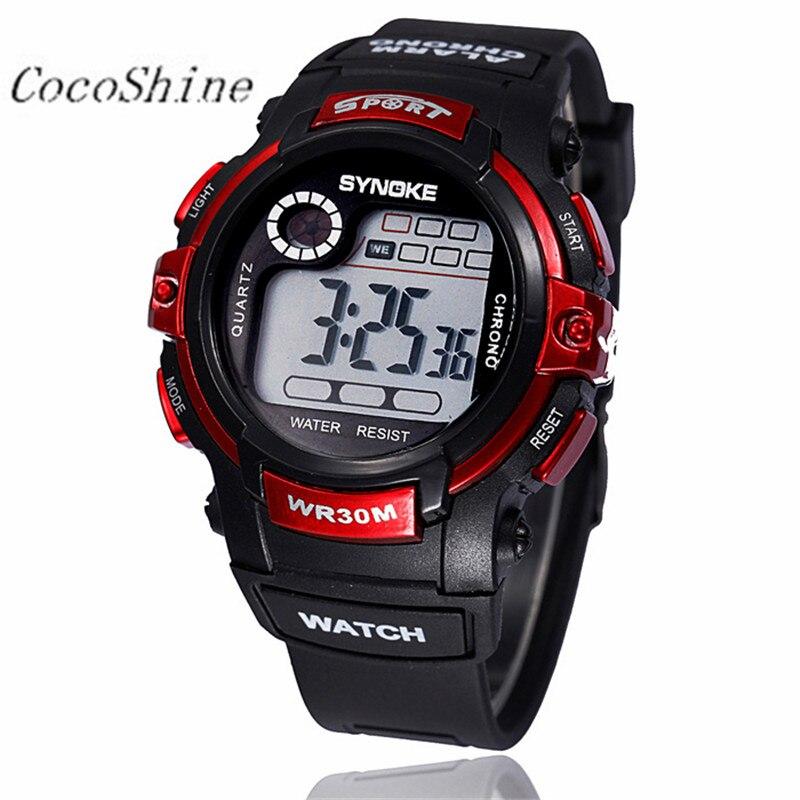 CocoShine A908 Multifunction Boy Digital LED Quartz Alarm Date Sports Waterproof Wrist Watch wholesale 20
