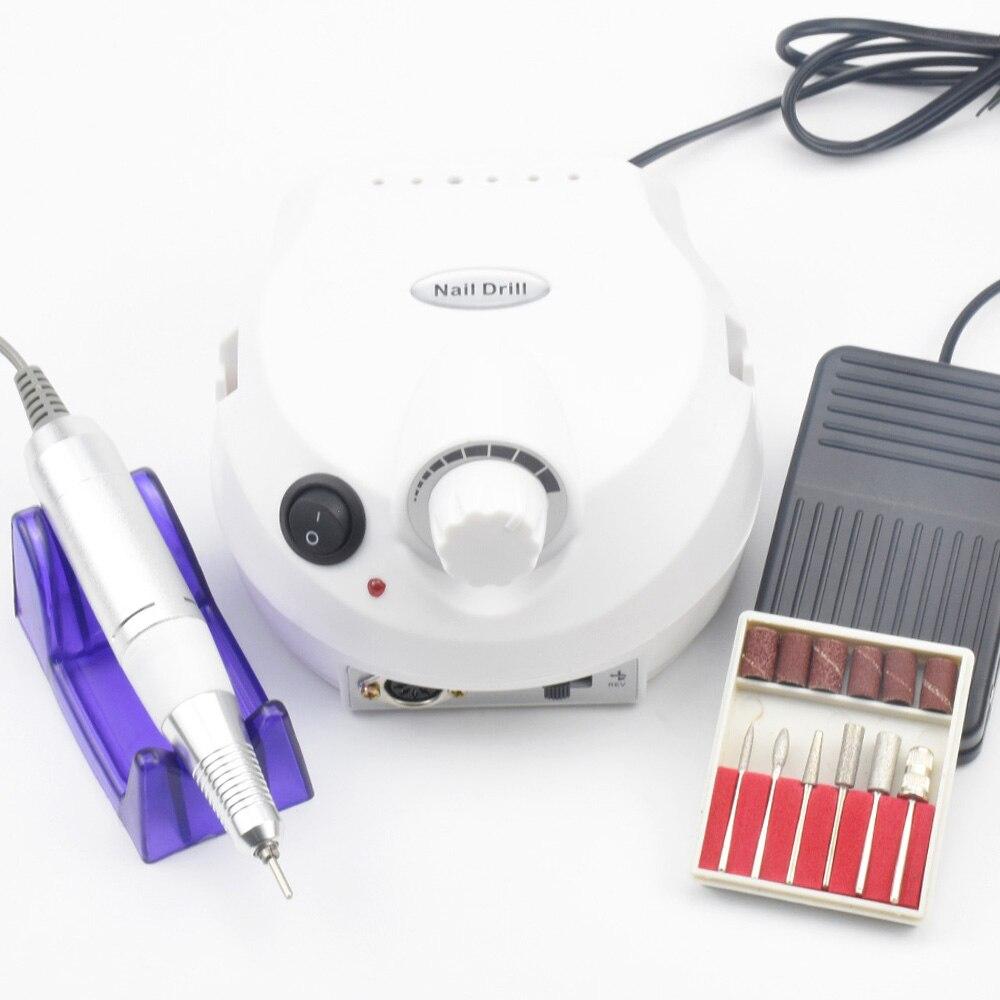 30000 rpm Elektrische Nagel Bohrer Maschine Elektrische Maniküre Maschine Bohrer Zubehör Pediküre kit Nagel Bohrer Datei Bit Nagel werkzeuge