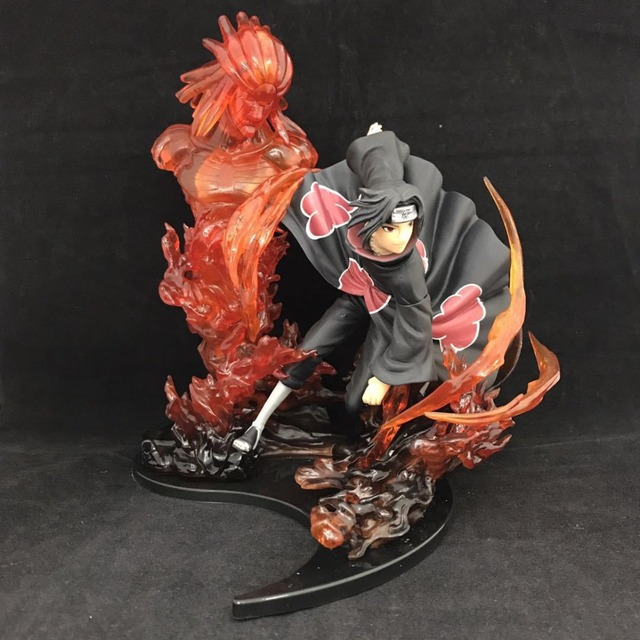 anime naruto shippuden zero uchiha itachi susanoo model decoration