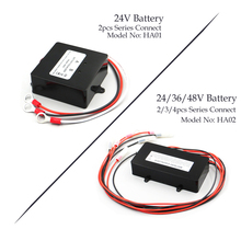 HA01 HA02 48V&24V Solar System Battery Equalizer Battery Balancer Charger Controller for Lead Acid Battery Bank System Black battery equalizer 2 x 12v used for lead acid battery balancer charger for 12v 24v