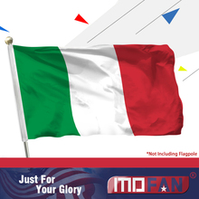 MOFAN Italy Flag Bandiera Italiana-High Quality and Double Stitched- Holiday Procession Flags Polyester 3x5 Ft