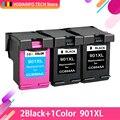 QSYRAINBOW совместимый 901XL чернильный картридж для HP 901 Officejet 4500 J4580 J4550 J4540 J4680 J4524 J4535 J4585 J4624