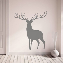 YOYOYU 40 colors Vinyl wall stickers muraux Stag Pattern Removeable Wall Decal Livingroom B Wall Decor ZX197 quality floating dandelion pattern removeable wall stickers