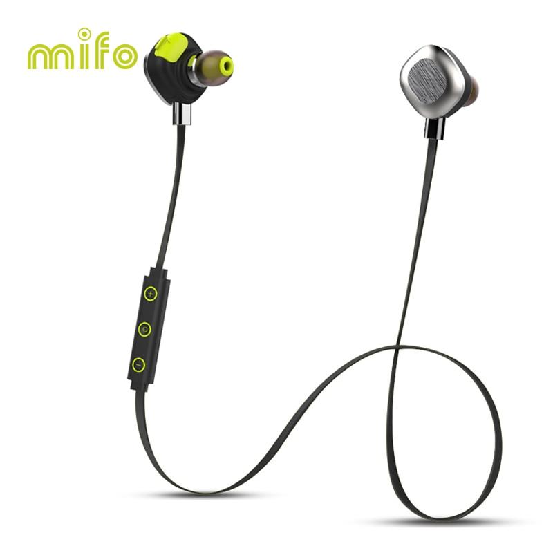 NFC Magnetic Wireless Headset Workout Sport Bluetooth Headphone Stereo Waterproof Noise Canceling Earphone mifo U5 PLUS man in black edp 30 мл bvlgari man in black edp 30 мл