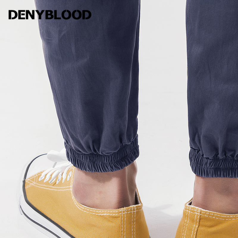 Denyblood Jeans Mens Chinos Overalls Slim Straight Eastic Bottom Stretch Bib Pants Jumpsuit for Men Casual Pants KA101